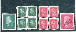 Allemagne - Timbres Pour Enfants - 2 Blocs De 4 Sans Gomme (timbres Normaux De Chaque Côté, Afin De Voir La Différence) - Allemagne