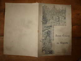 La Légende De Saint-Cenery-le-Gerei (Orne)  : Document Ancien - Vieux Papiers