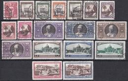 Mm_ Vatikan 1933 - Mi.Nr. 21 - 38 -  Gestempelt Used - Usados