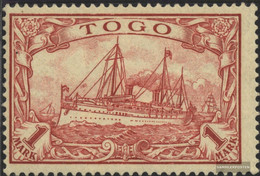 Togo (German. Colony) 16 With Hinge 1900 Imperial Yacht - Colony: Togo