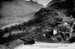 Saint Savin - La Plaine D' Adast Et La Chapelle De Piétat - France