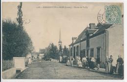 """Pierrefitte ès Bois (45 - Loiret) Route De Vailly """"cherche Ton Neuveu"""" édit Marchand N° 1188 Circulée 1905 - Altri Comuni"""