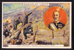 CHROMO Chocolat LOUIT Frères  Guerre Russo Japonaise  General Nogi Port Arthur Japan Russia - Louit