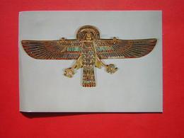 CPM PARIS MUSEE DU LOUVRE DEPARTEMENT DES ANTIQUITES EGYPTIENNES VAUTOUR A TETE DE BELIER Régne De Ramsès II NON VOYAGEE - Musées