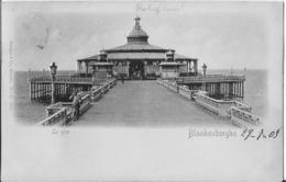 Blankenberge, De Pier -> Beschreven (kaart Met Relief) - Blankenberge