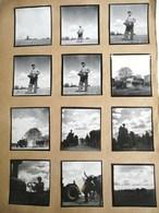 12 PHOTOGRAPHIE : EN BEAUCE AGRICULTURE FERME TRACTEUR LABOURAGE FENAISON CULTURE EURE LOIRET NOEL LE BOYER - Cultures