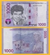 Armenia 1000 Dram P-new 2018 REPLACEMENT UNC Banknote - Arménie