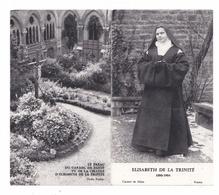 Soeur Elisabeth De La Trinité, Vue De Sa Cellule, Marie-Elisabeth Catez, Carmélite, Farges-en-Septaine, Bourges, Dijon - Images Religieuses