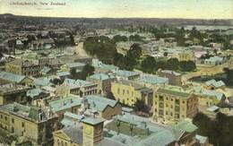 New Zealand, CHRISTCHURCH, Partial View (1910) Postcard - New Zealand