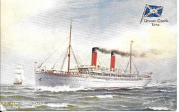 CPA- Vers 1900-PAQUEBOT-S.S.KENILWORTH CASTLE-Cie ROYAL MAIL UNION CASTLE-Ligne Afrique Sud-TBE-RARE - Paquebots