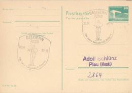 DDR Beleg Mit Sonderstempel Belgern 700 Jahre Rolandstadt 1986 - [6] République Démocratique