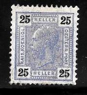 Austria Scott    99 Mint Lite Hinge Fine CV 40.00 - 1850-1918 Empire