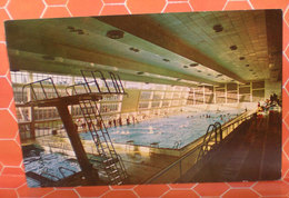 Dunenin Moana Swimming Pool Nuova Zelanda  Cartolina Viaggiata 1972 - Nouvelle-Zélande