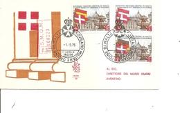 Drapeaux ( FDC De L'Ordre De Malte De 1975 à Voir) - Enveloppes