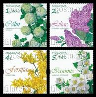 Moldova 2019 Mih. 1088/91 Flora. Flowering Shrubs MNH ** - Moldova