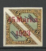 ESTLAND ESTONIA 1923 Michel 45 B I * - Estland