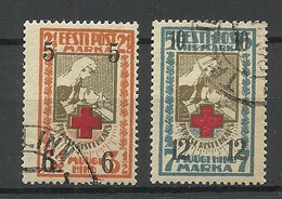 Estonia Estland 1926 Michel 60 - 61 O - Estonie