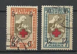 Estonia Estland 1926 Michel 60 - 61 O - Estland