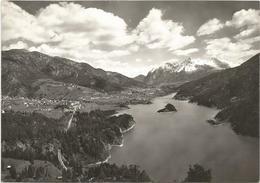 W1868 Calalzo Di Cadore (Belluno) - Lago Cadore E Monte Tudaio - Panorama / Viaggiata 1962 - Italie