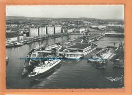 CPSM Grand Format - LA FRANCE VUE DU CIEL ... BOULOGNE SUR MER - La Gare Maritime - Boulogne Sur Mer