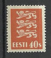 ESTLAND Estonia 1929 Michel 84 * - Estland