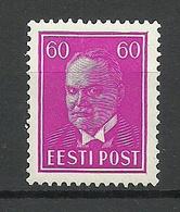 ESTLAND Estonia 1936 Michel 126 * - Estland