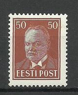 ESTLAND Estonia 1936 Michel 119 * - Estland