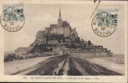 Orphelins De Guerre YT 164 X2 CAD + CPA Mont St Saint Michel 26 5 33 - Storia Postale