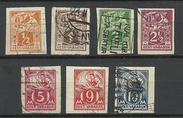 Estland Estonia 1922-1924 Michel 32 - 39 B O - Estland