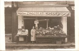 75 - PARIS XI - Epicerie Crèmerie - Chocolat Morand - Beurre Vatel - Rue Popincourt - TBE - Magasins