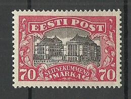 Estland Estonia 1924 Theater Michel 56 * - Estonia