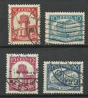 Estland Estonia 1932 University Dorpat Tartu Michel 94 - 97 O - Estonia