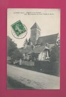 A Izier (Eure) - L' Eglise Et La Douane - Douane
