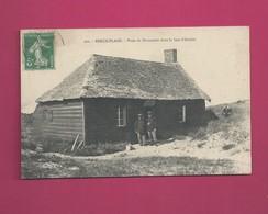 Berck Plage - Poste De Douaniers Dans La Baie D' Authie - Douane