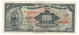 Mexico 1000 Pesos 1974. XF/AUNC. Green Seal - Mexique