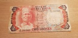 SIERRA LEONE 2 LEONES 1985 - Sierra Leone
