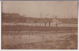 CARTE PHOTO DE BRUAY EN ARTOIS (62) ? : LES INONDATIONS DE 1903 ? - PHOTO SOCIETE JOUGLA PARIS - 2 SCANS - Altri Comuni