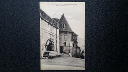 Old Postcard - BESANÇON LES BAINS Château Des Eaux D'Arcier Et Ancien Hôtel Bonvalot. - Besancon