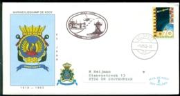 Nederland 1983 Speciale Envelop Vlucht R.N.A.S. Yeovilton - M.V.K. De Kooy 65 Jaar De Kooy - 1980-... (Beatrix)