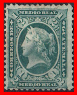 GUATEMALA (AMERICA DEL NORTE) SELLO 1875 LIBERTAD. - Guatemala
