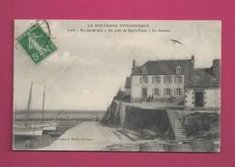 La Bretagne Pittoresque - Ile De Groix - Un Coin De Port Tudy - La Douane - Douane