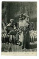 Danseuse Marocaine Accompagnée Par Un Mucisien Jouant De L'oud (luth Ou Mandoline) - Circulé 1914, Sous Enveloppe - Afrique