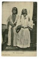 Fez - Femmes Mauresques Portant Bracelets Et Colliers Et Fumant La Cigarette - Circulé Sans Date, Sous Enveloppe - Afrique