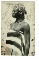 Scènes Et Types - Au Maroc - Mauresque Sénégalaise - Circulé 1918, Cachet Trésor Et Postes Aux Armées - Rabat - Afrique