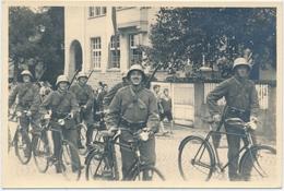 Foto Von Radfahrer Zug Nach 2. WK. In Amriswil - Militaria