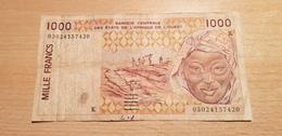 SENEGAL 1000 FRANCS CFA 2003 - Sénégal