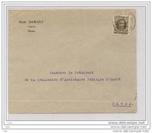 Pli De Mons 1929 ( Avocat  Dawant ) - 1922-1927 Houyoux