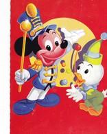 WALT DISNEY  Donald Duck  Micky Pork Modern Postcard  1972 - Illustrateurs & Photographes
