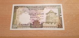 SRI LANKA 10 RUPEES 1990 UNC - Sri Lanka