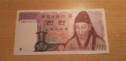 SOUTH KOREA 1000 WON  UNC - Corée Du Sud
